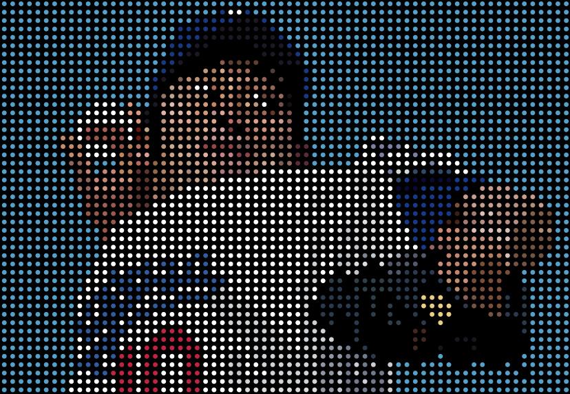 ロサンゼルス・ドジャース野茂英雄のトルネード投法のイラスト