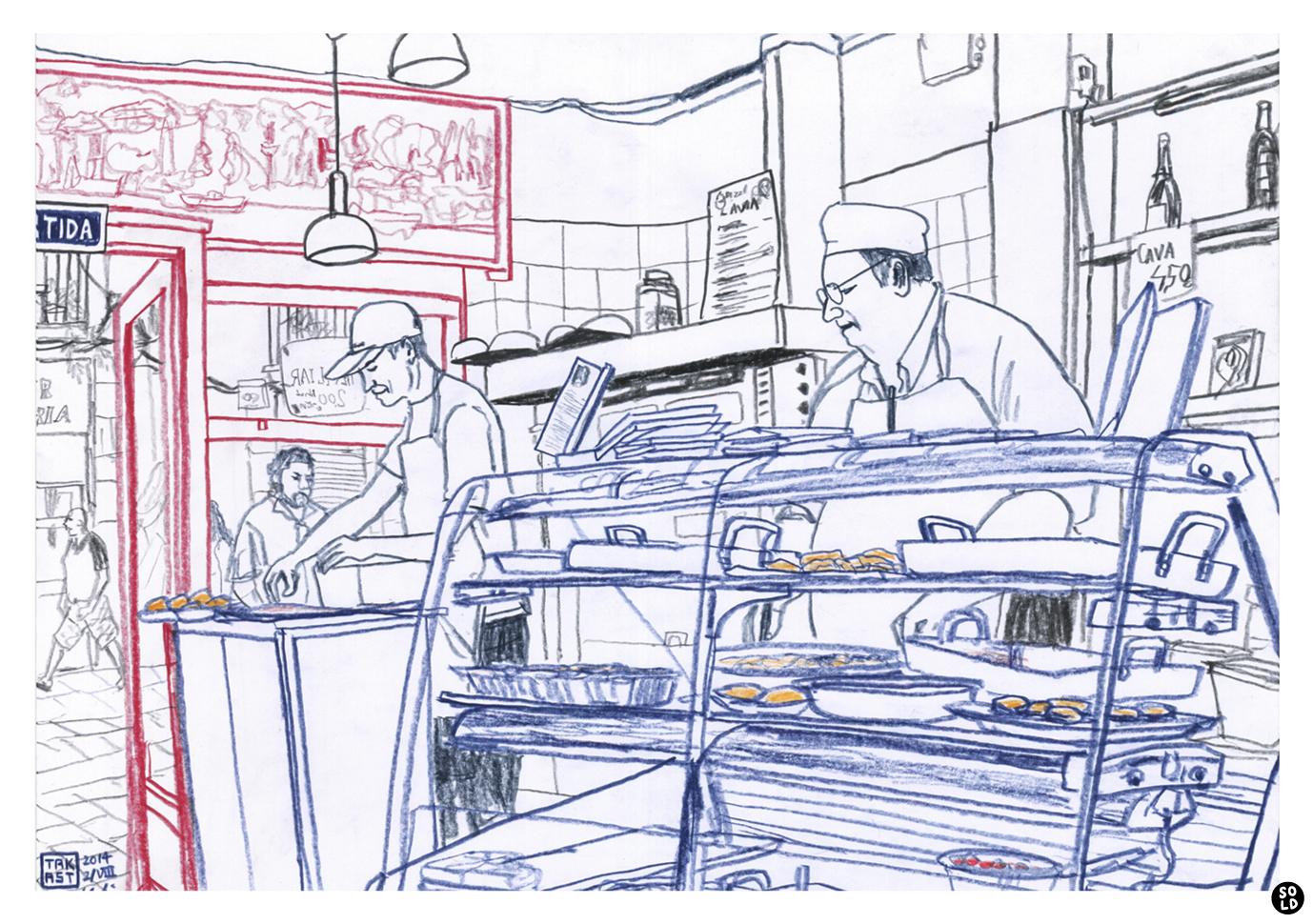 Mario y Gabi de Restaurante catalán uruguayo L'Àvia en el Raval de Barcelona